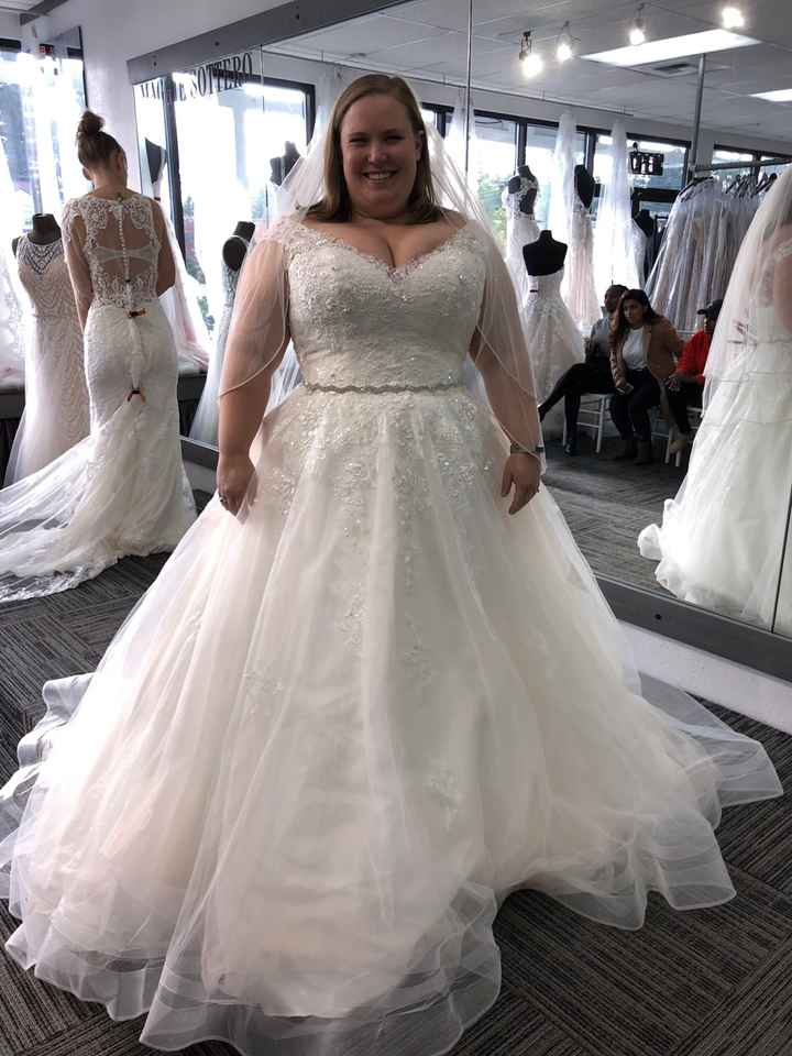 Show me your ball gown wedding dresses! - 1