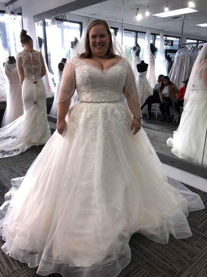 Dress commitment fears 😣 - 1