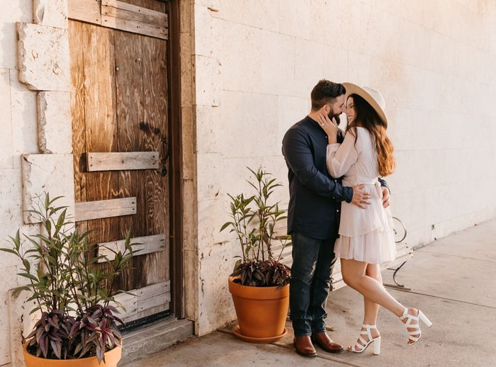 Anyone have engagement photos that are neither cutesy nor glam? 14
