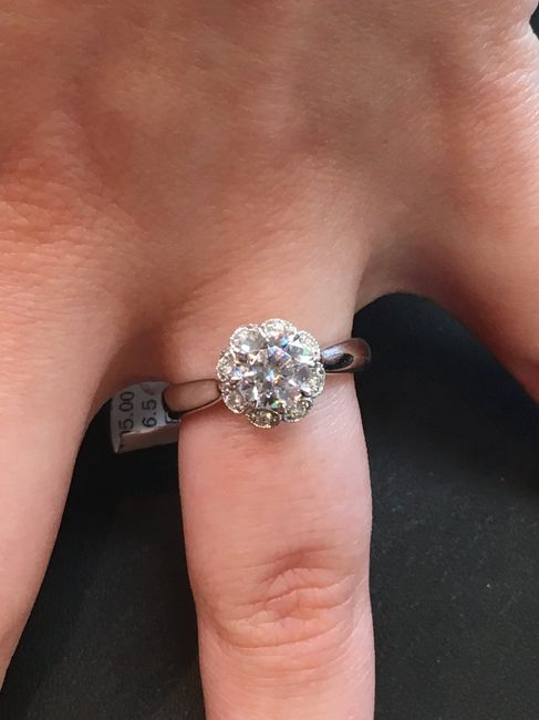 Show me your engagement ring! 15