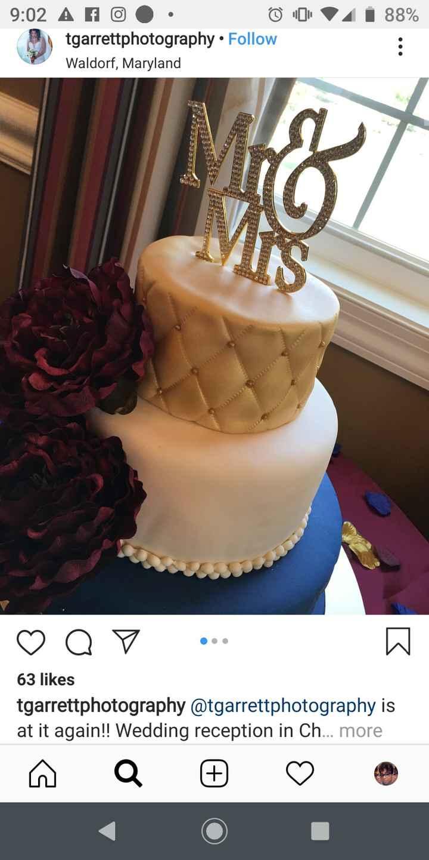 Another wedding cake idea