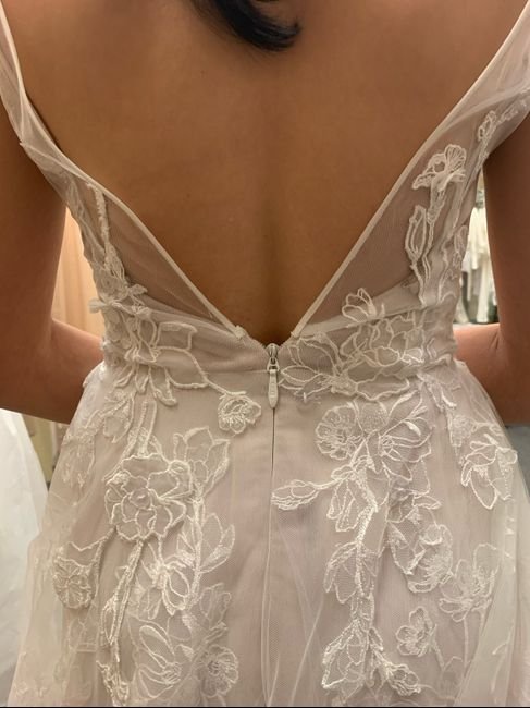 First Fitting Success!! David's Bridal 1