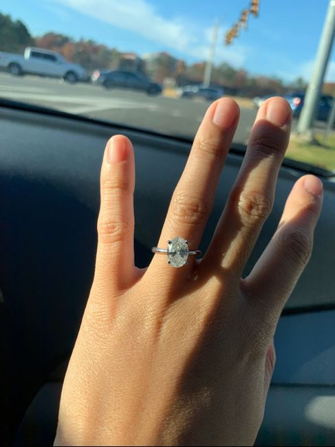 Oval engagement rings 7