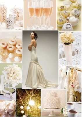 Mixing of white and ivory | Weddings, Style and Décor | Wedding ...