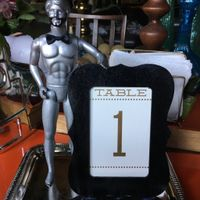 Fun Table Numbers for Our Wedding