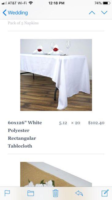 Tablecloths 3