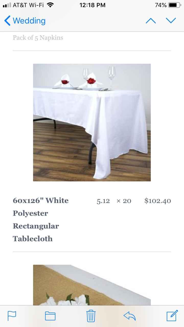 Tablecloths - 3