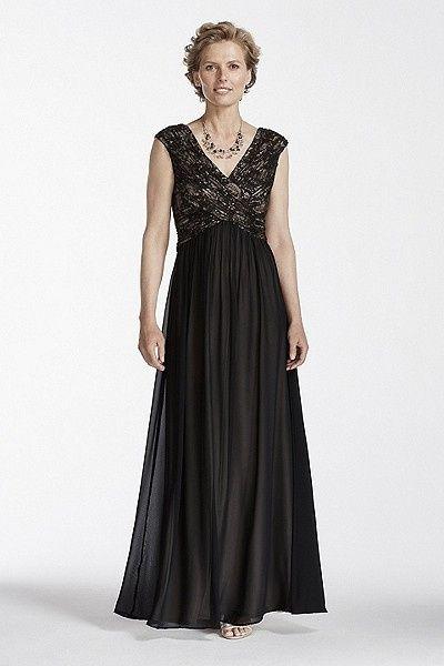 Black Mother of Bride Dress Wedding Images