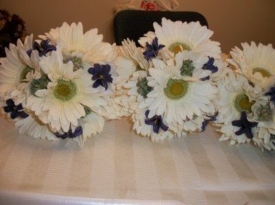 Anyone using fake flowers for the bouquet?