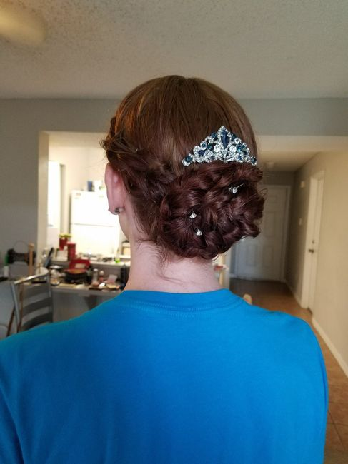 Hair and Makeup Trial: Wedding on Saturday!!! 3