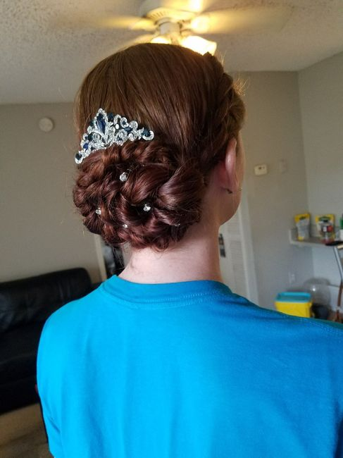 Hair and Makeup Trial: Wedding on Saturday!!! 4