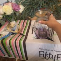 DIY FiftyFlowers Prep! on mobile...