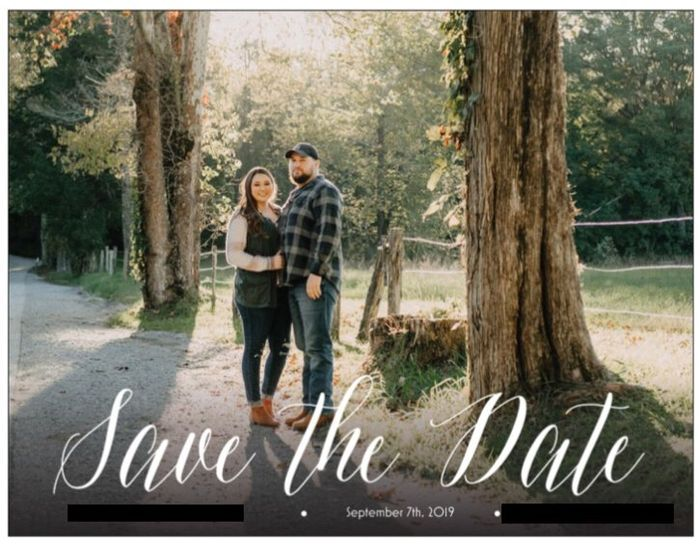 Save the dates 1