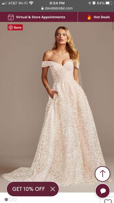 Torn between 2 dresses 3