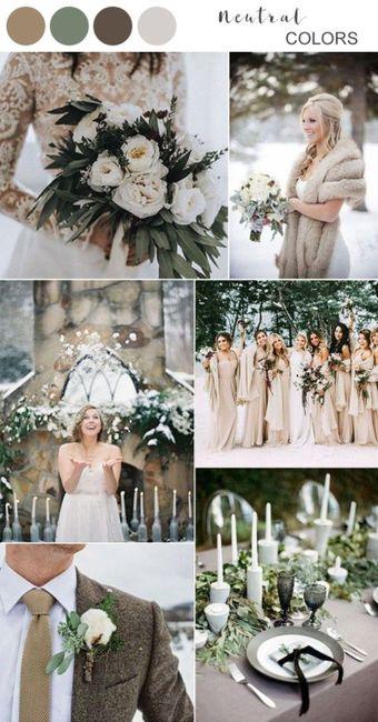 Winter Wedding Colors ❄️ 3