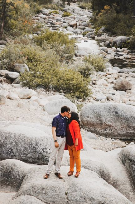 Admidst the Covid-19 panic, post your favorite picture from your engagement shoot. 1