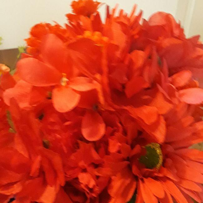 Rainbow Bride & Bridesmaid Bouquets - 3