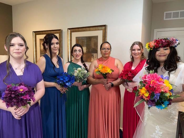 Sneak Peak (2/14/2021) Rainbow themed wedding 1