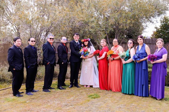 Pro bam - (02/14/21) Valentine's Day Rainbow Wedding (pic Heavy) - 2