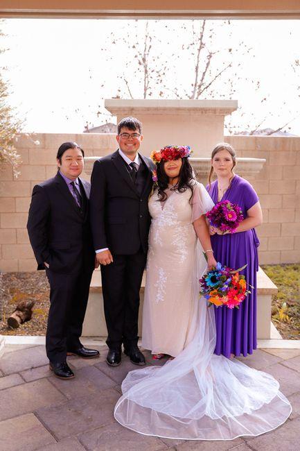 Pro BAM - (02/14/21) Valentine's Day Rainbow Wedding Part 1 (pic Heavy) 5