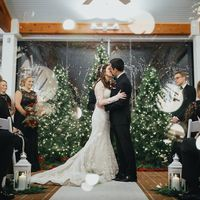 first kiss during ceremony