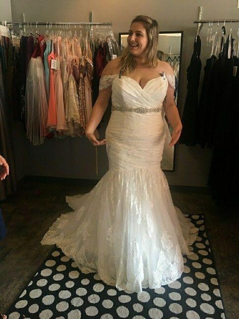 Curvy Girl In A Mermaid Dress Weddings Wedding Attire Wedding