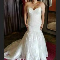 How much was your wedding dress? - 1