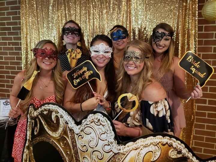 The bridesmaids! (Minus one)