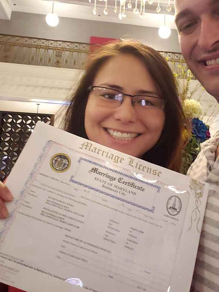 Marriage License!