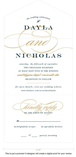 all in one invitations need opinions weddings etiquette and