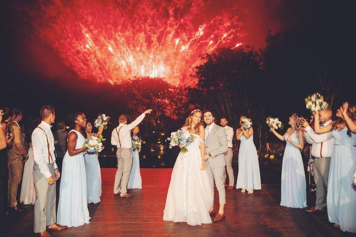 Bam! 🎇 02/02/20 (pre-covid destination wedding) 5