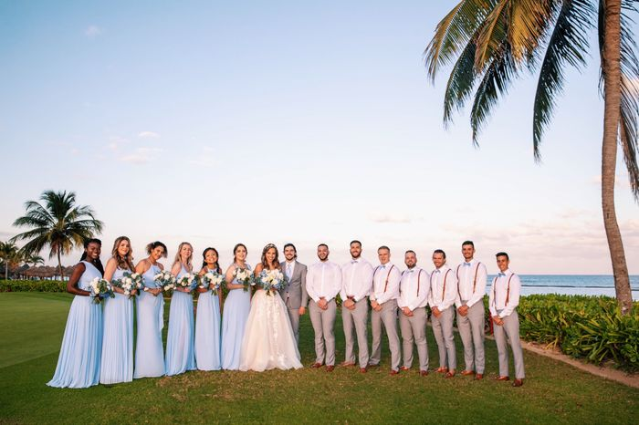 Bam! 🎇 02/02/20 (pre-covid destination wedding) 6