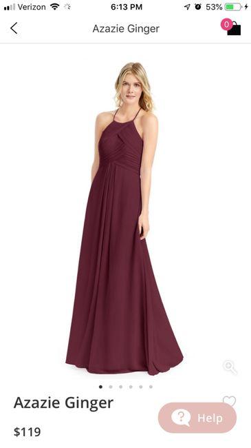 fdbac549fd Bridesmaids Dress Color