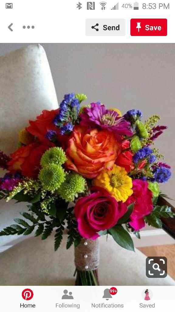 Bouquet - White or Colorful? - 1