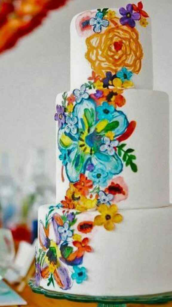Cake - White or Colorful? - 1