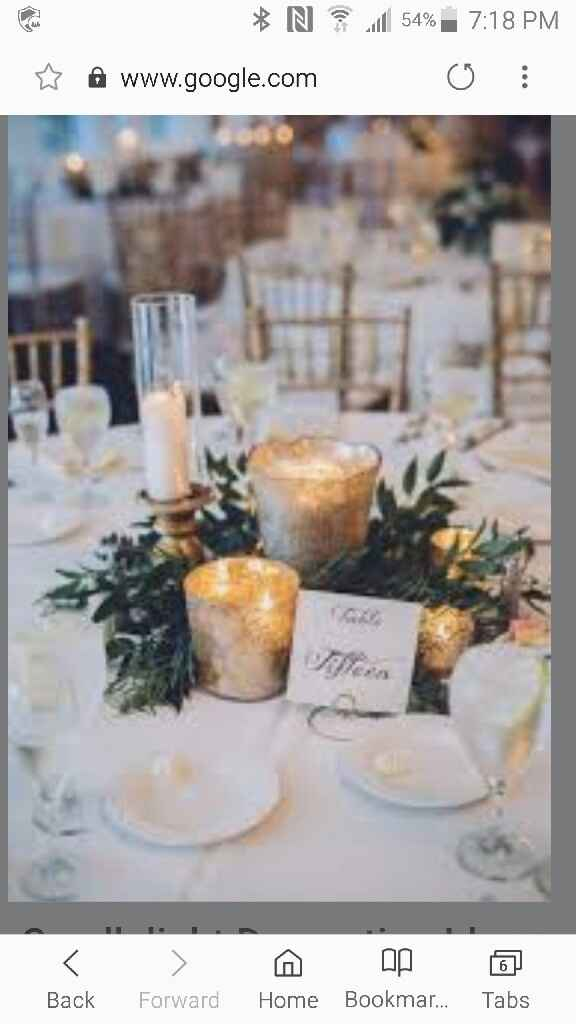 Centerpieces - White or Colorful? - 1