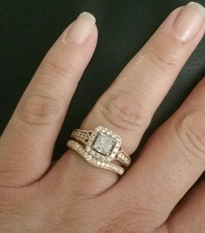 Let's see those wedding bands! - 1