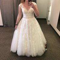 6 days out and added sleeves to my dress! - 1
