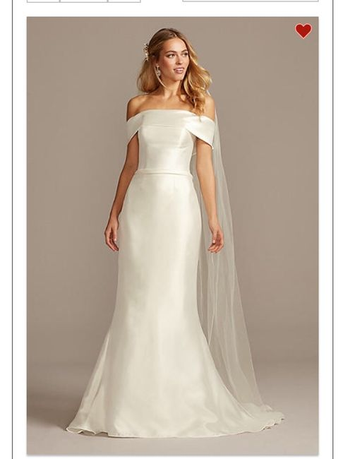David's Bridal - is it good? i tried dresses on not expecting to find anything, and was surprised by what i found 4