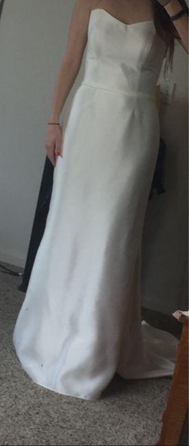 Wedding Dress - Too Plain? 3