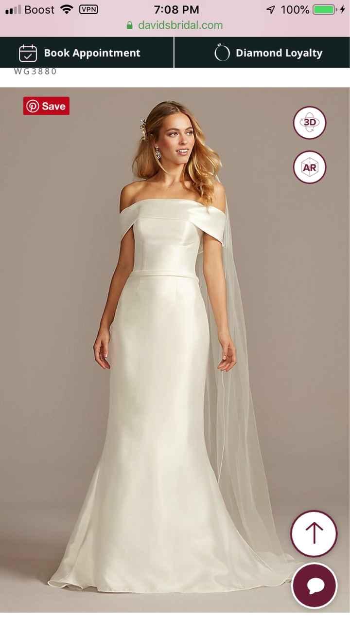 Dresses from David's Bridal - 1