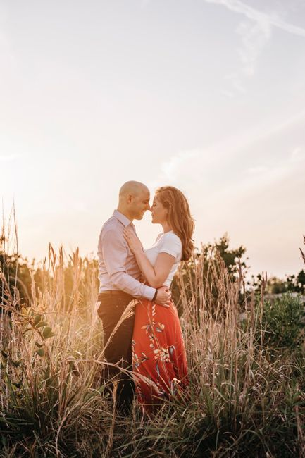 Admidst the Covid-19 panic, post your favorite picture from your engagement shoot. 8