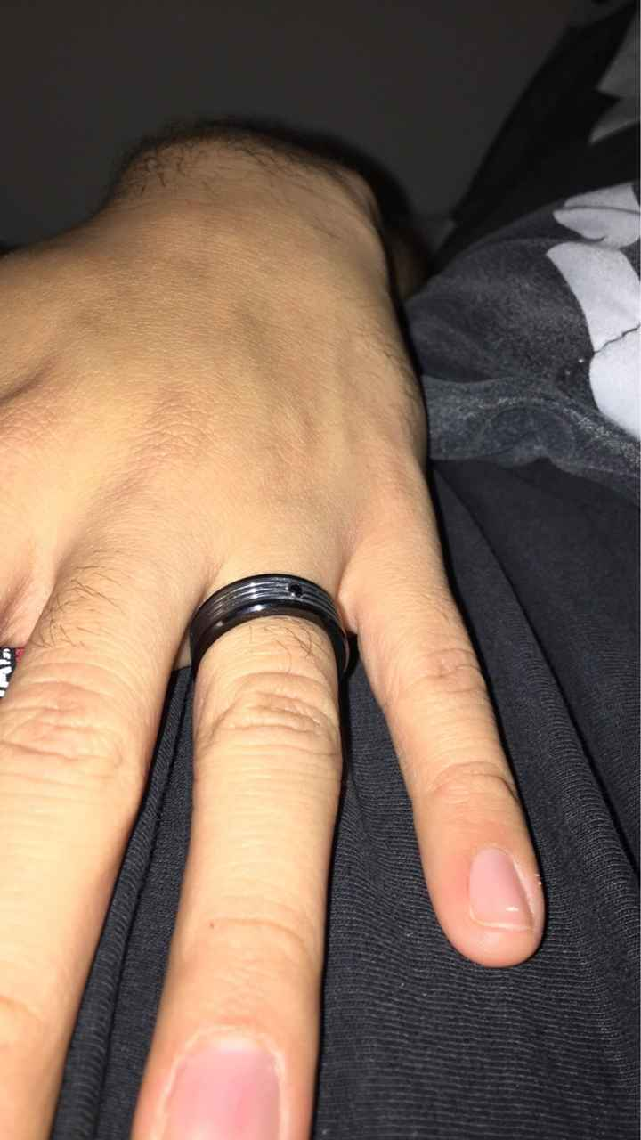 Show off your partners ring! - 1