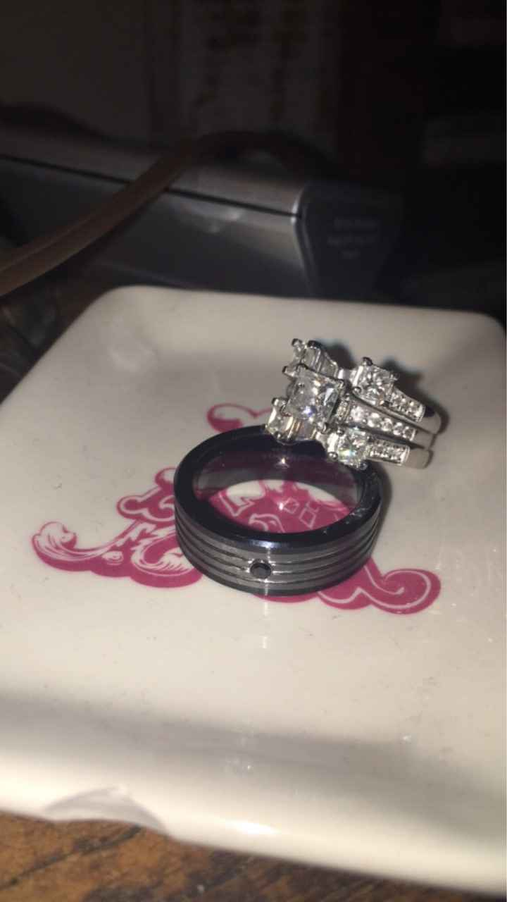 Show off your partners ring! - 2