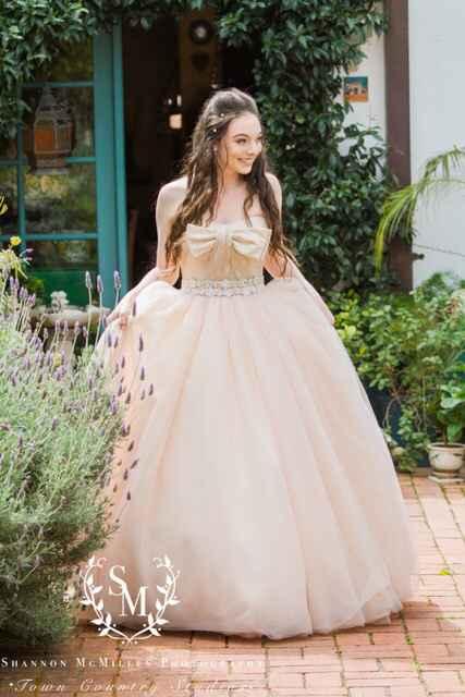 What's your favorite part of your wedding goen? - 1