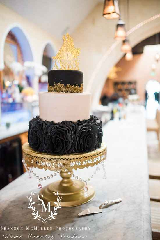 Incorporating the Color Black Into Your Wedding - 1