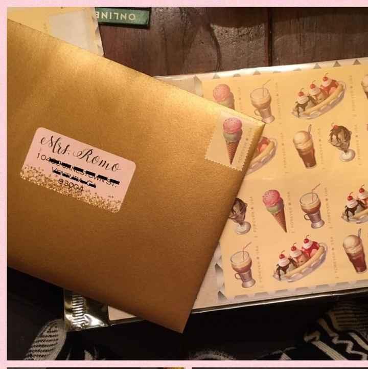 Handwritten or printed invitation addresses?