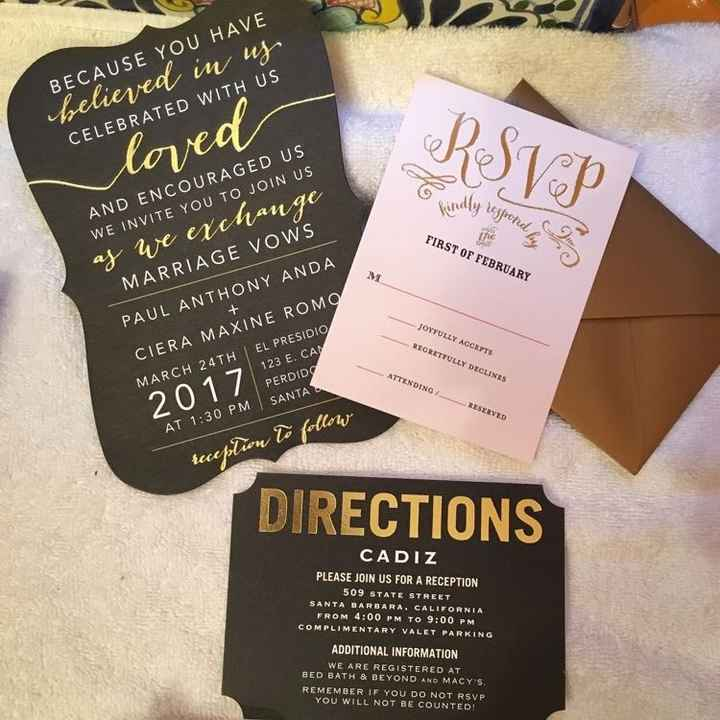 Invitation Budgets and Tips