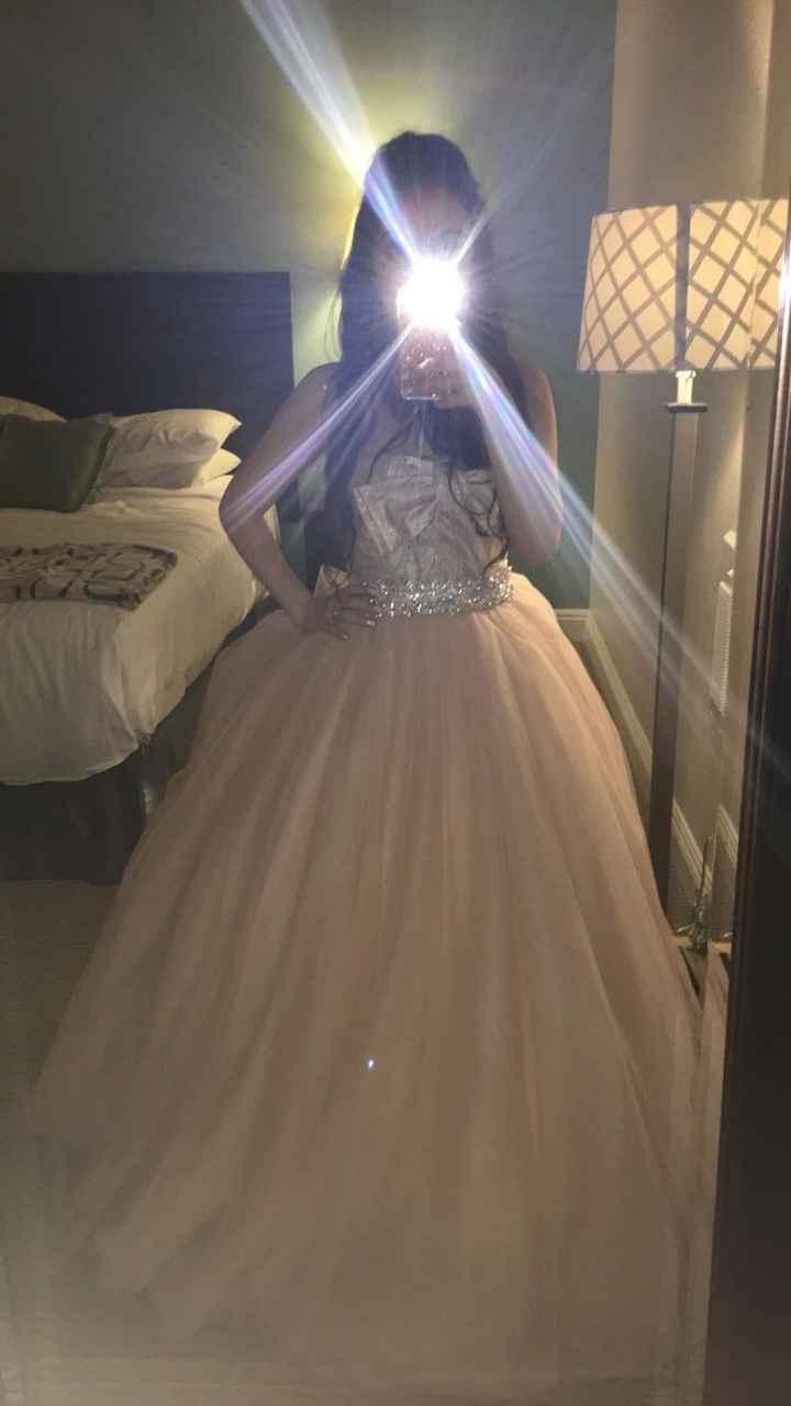 Pink/blush wedding dresses!