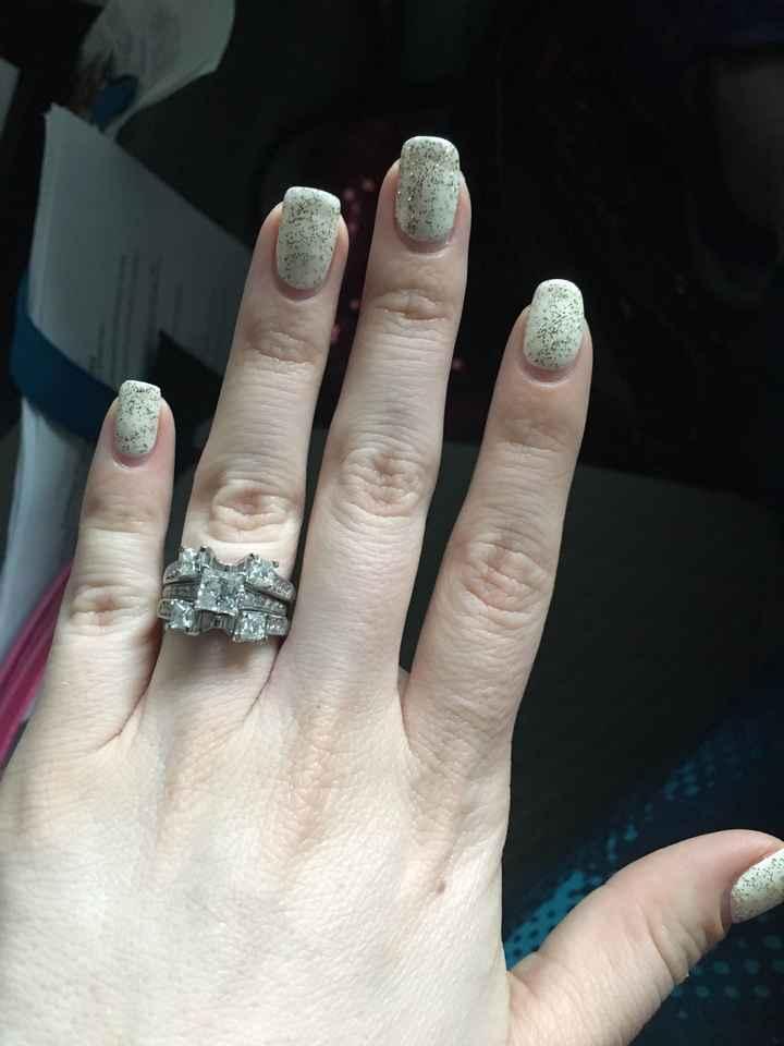 bridal nail color